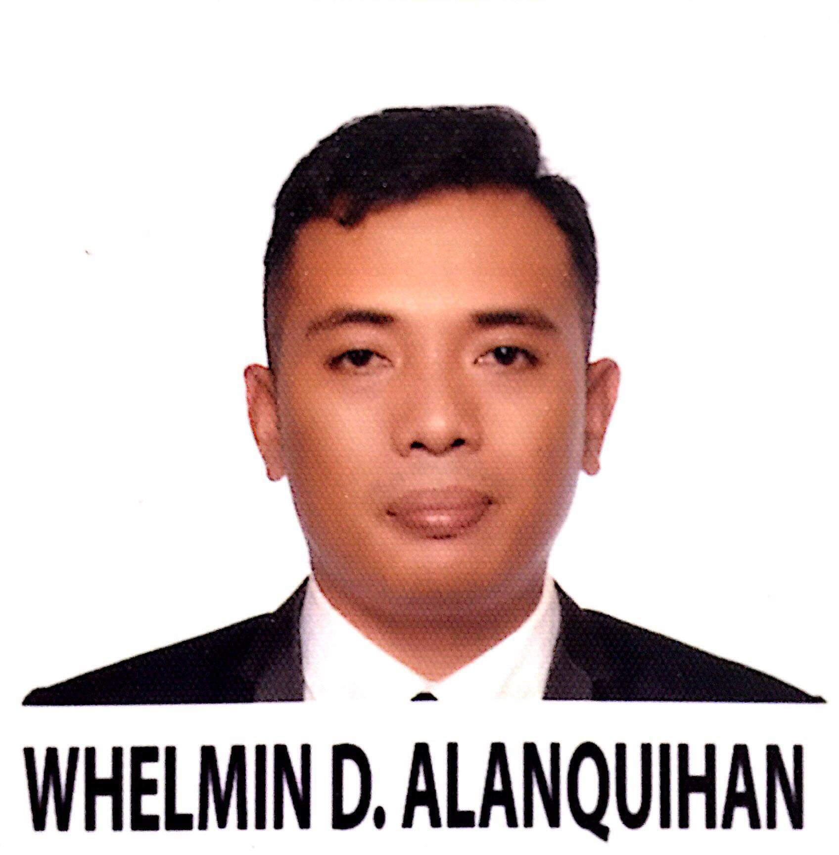 WHELMIN D. ALANQUIHAN seafarer Steward Passenger Ship