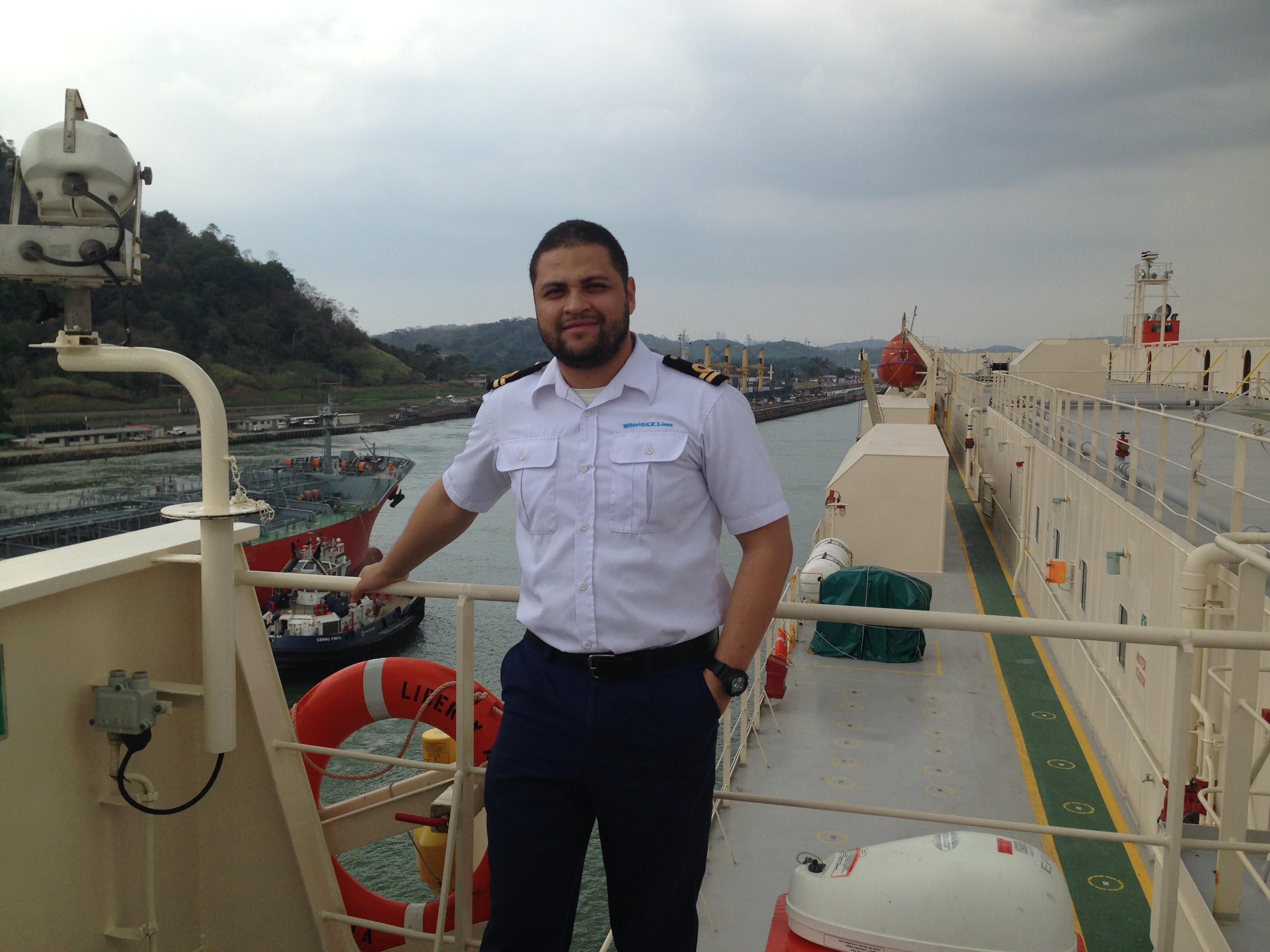 Brayan Enrique Cuesta Lopez seafarer Second Officer Car Carrier
